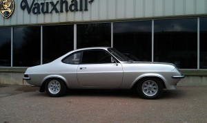 Droop Snoot Firenza HP, fully restored and dressed to kill.